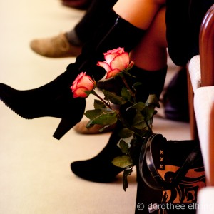 Schuhe und Rose_Doro