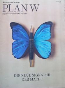 blauer Schmetterling süddeutsche Cover