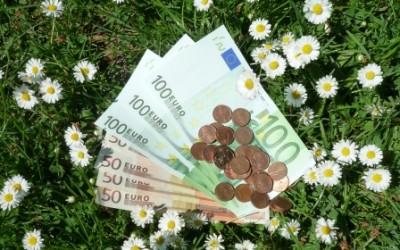 Geld als Wahlzettel